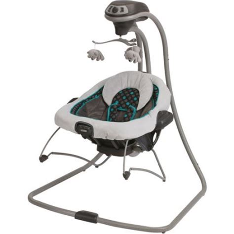 graco swing n bounce 2 in 1 infant swing graco duetconnect swing bouncer dolce walmart com