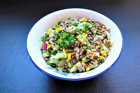 Lentil Detox Salad by Detox For A Healthy Only Gluten Free Recipes