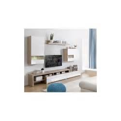 decoration meuble tv design mural boran blanc