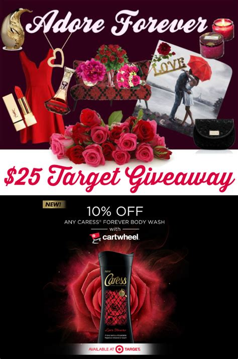 Target Gift Card Collection - 25 target gift card giveaway caress forever collection