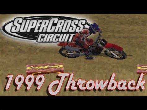 ama motocross game flashback to 1999 supercross circuit gameplay ama