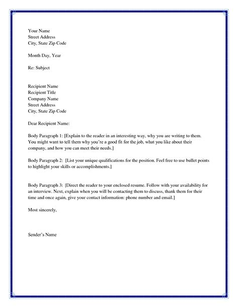 Cover Letter To Unknown Recipient by Best Photos Of Greetings And Salutations Exles Email Greetings And Salutations Exles