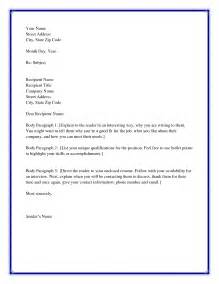 Cover Letter Salutations by Salutation Cover Letter