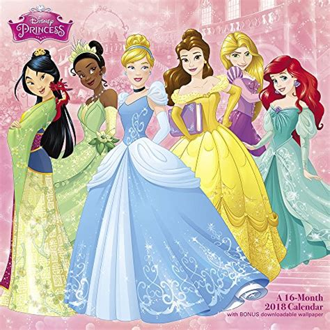 2018 disney princess wall calendar mead it s time to grab disney calendars 2018 for your