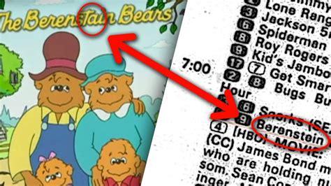 berenstain bears berenstain bears conspiracy proof aka berenstein bears