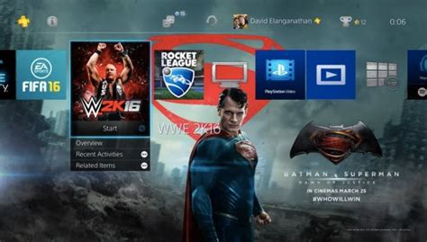 Ps4 Themes Superman | batman vs superman free ps4 theme download product