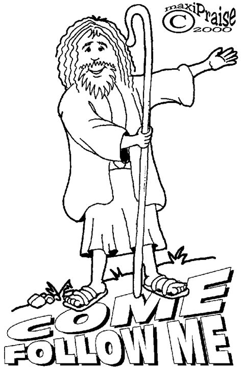 coloring pages jesus follow me the catholic toolbox