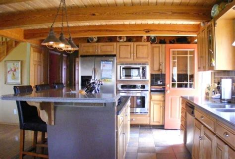 Kitchen Post by Post And Beam Kitchen Home Sweet Home