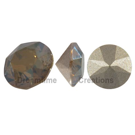Bronze L Shades by Swarovski 1088 Xirius Chaton Bronze Shade Pp24