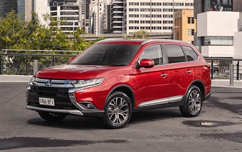 red mitsubishi outlander 2016 mitsubishi outlander review australian launch
