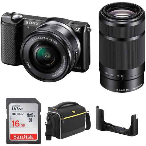 Sale Kamera Mirrorless Sony A5000 sony alpha a5000 mirrorless digital with 16 50mm and b h