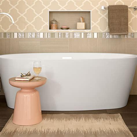 american standard freestanding bathtub coastal serin freestanding soaker tub american standard