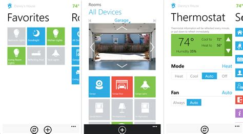 insteon home automation for windows and windows phone