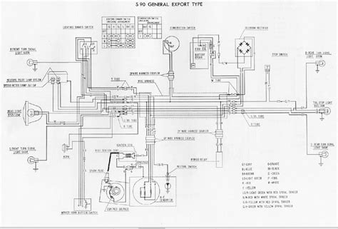 electrical wiring diagram honda 90 get free image about