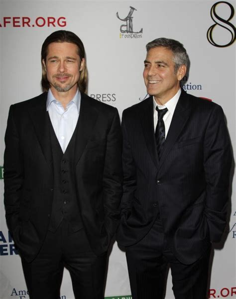 Kevin Bacon And Brad Pitt Pitt Clooney In 8 With Sheen Bacon Lynch And All