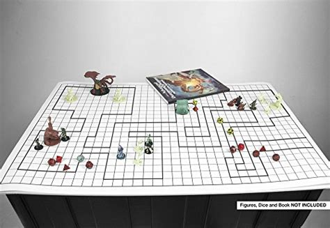 Battle Grid Mat 36 X 24 1 Inch Dnd
