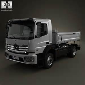 Mercedes Truck Models Mercedes Atego Tipper Truck 2013 3d Model Hum3d