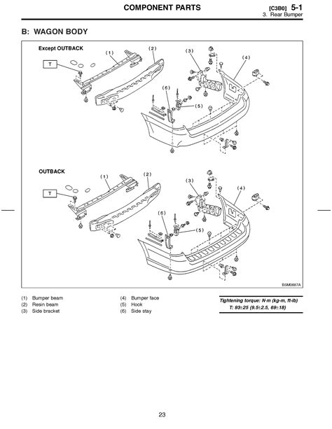 Rear bumper removal - Subaru Outback - Subaru Outback Forums