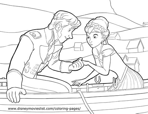 disney coloring pages frozen free frozen prince hans coloring page lovebugs and