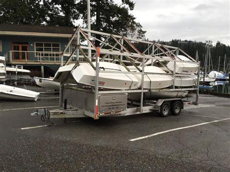 boat trailer victoria custom multiple small boat trailer outside victoria