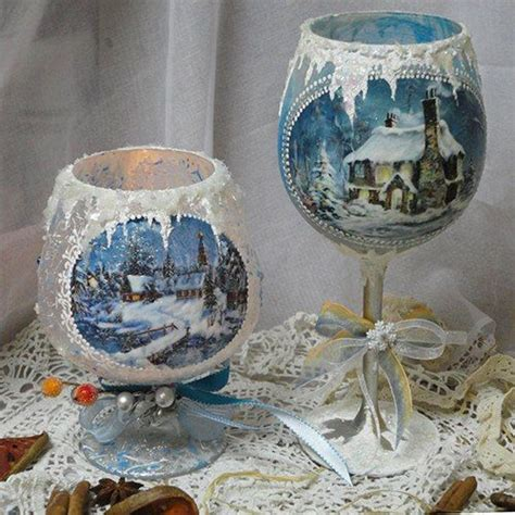 Decoupage Glass - 25 unique decoupage glass ideas on diy