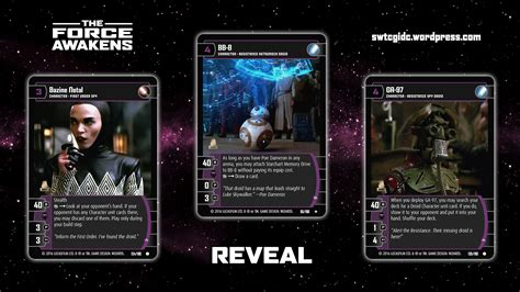 gorce of will card template the awakens wars trading card