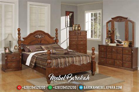 Tempat Tidur Set Kayu Jati set tempat tidur kayu jati minimalis klasik modern mewah
