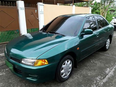 green mitsubishi lancer used 1998 mitsubishi lancer glxi blue green for sale