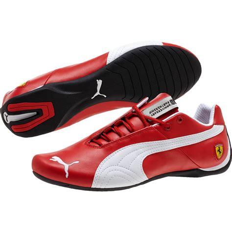 Puma Ferrari Store by Puma Ferrari Future Cat 10 Leather Men S Shoes Ebay