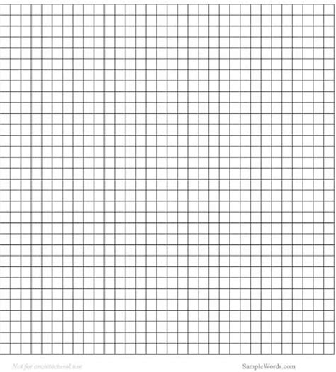 Graph Paper In Word - graph paper template