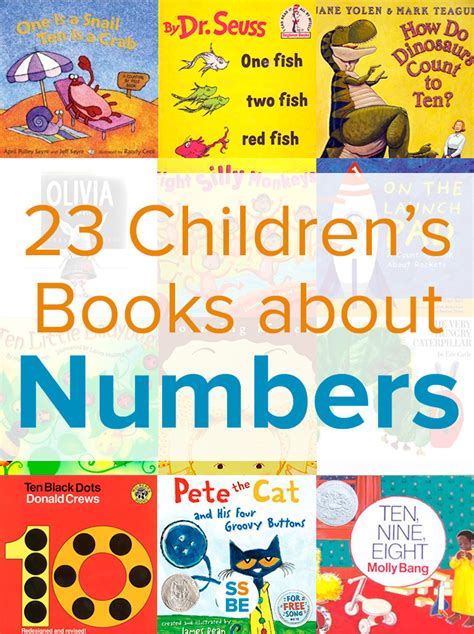 by the numbers books 12 children s books about numbers and counting