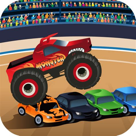 monster truck games videos for kids amazon com monster trucks game for kids appstore for android