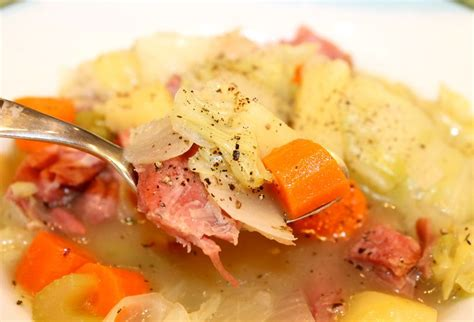 6 hearty recipes making potatoes main dish worthy s traditional ham cabbage and potato soup kitchen encounters