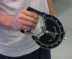 Handgrip Dynamometer grip strength test