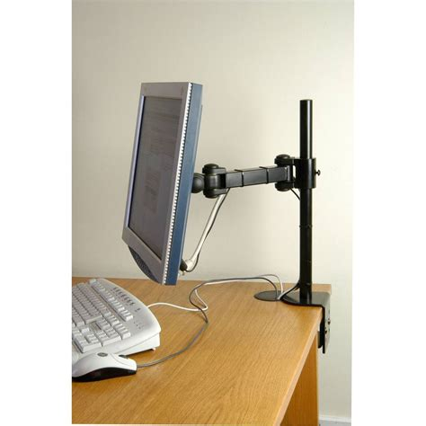 Computer Monitor Desk Mount Lcd Monitor Arm Desk Mount Outdoor Tv Aerials Digital Freeview 4g From Inta Audio Uk