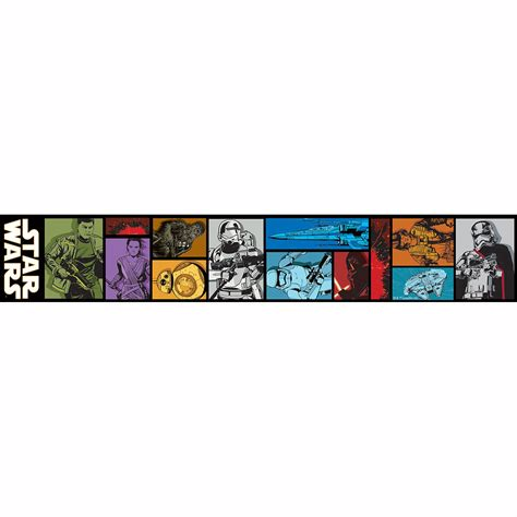 star wars bedroom wallpaper star wars wallpaper borders 5m various styles designs new kids bedroom ebay