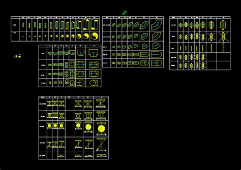 pipes  fittings  dwg block  autocad designs cad