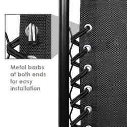sunnydaze decor universal replacement bungee cord laces