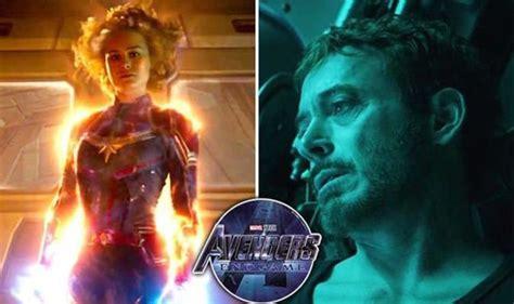 avengers endgame captain marvel news prove iron