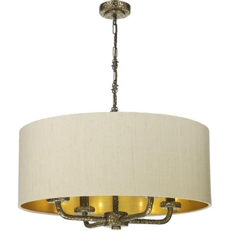 Large L Shades Ceiling by Large Taupe Ceiling Pendant Light Shade On Bronze Frame