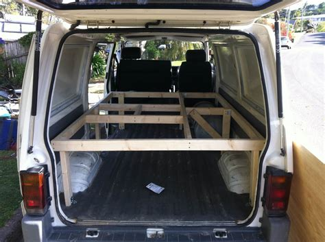 futon in van wanted van for gear and sleep windsurfing forums page 1