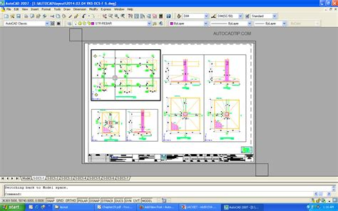 create layout in autocad model space and paper space in layout autocad