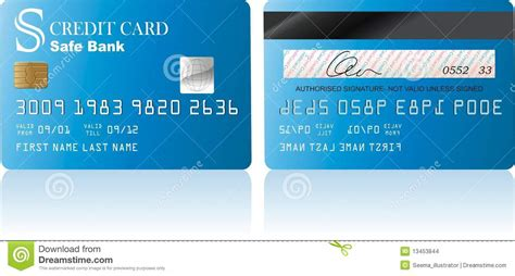 Credit Card Stock Images   Image: 13453844