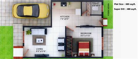 1 bhk duplex house plans floor plans