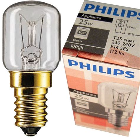 Lu Philips 25 Watt philips backofenle t25 e14 25w 25 watt 300 176 c