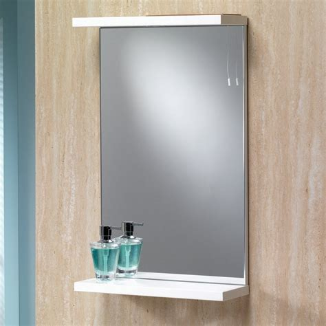 richmond bathroom supplies genesis richmond 550mm mirror with shelf light genesis