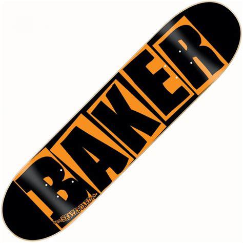 Baker Skateboards baker skateboards baker team danger orange deck 8 0