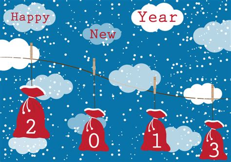 News Happy Holidays From Ebelle5 The Bag by 2013 New Year Gift Present Bags 123freevectors