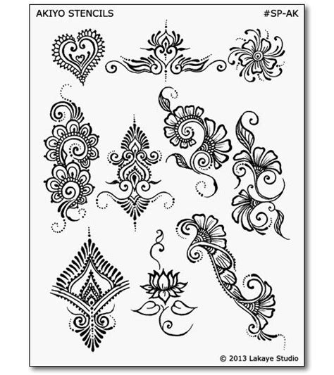 henna tattoo stencils free 1000 ideas about henna stencils on