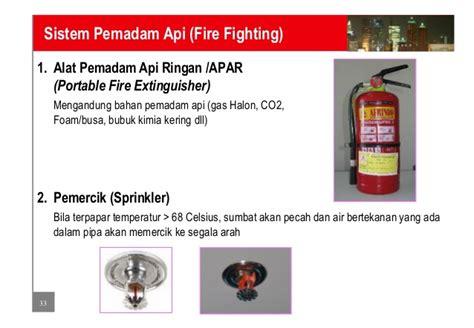 Alat Pemadam Api Ringan Apar 1 Kg Utk Mobil sistem pemadam api dan pengindera api